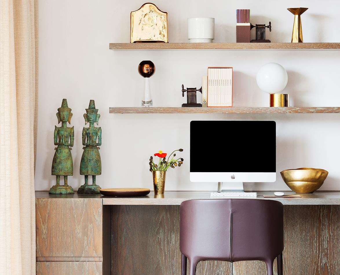 How to create a beautiful & functional office at home!