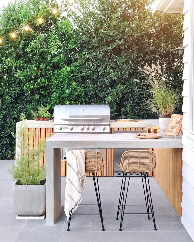 Create a fabulous outdoor kitchen in 4 simple steps