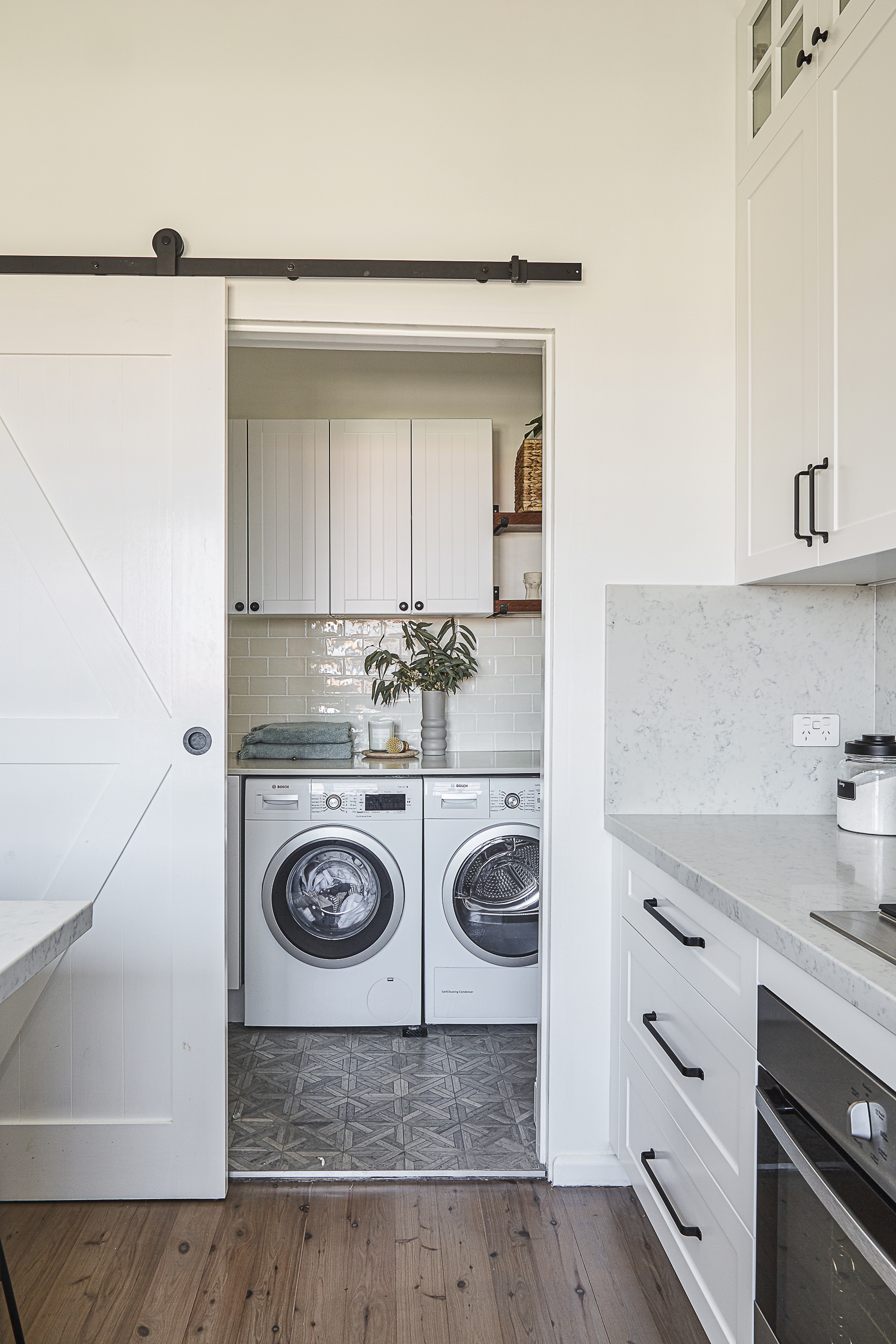 Laundry renovation