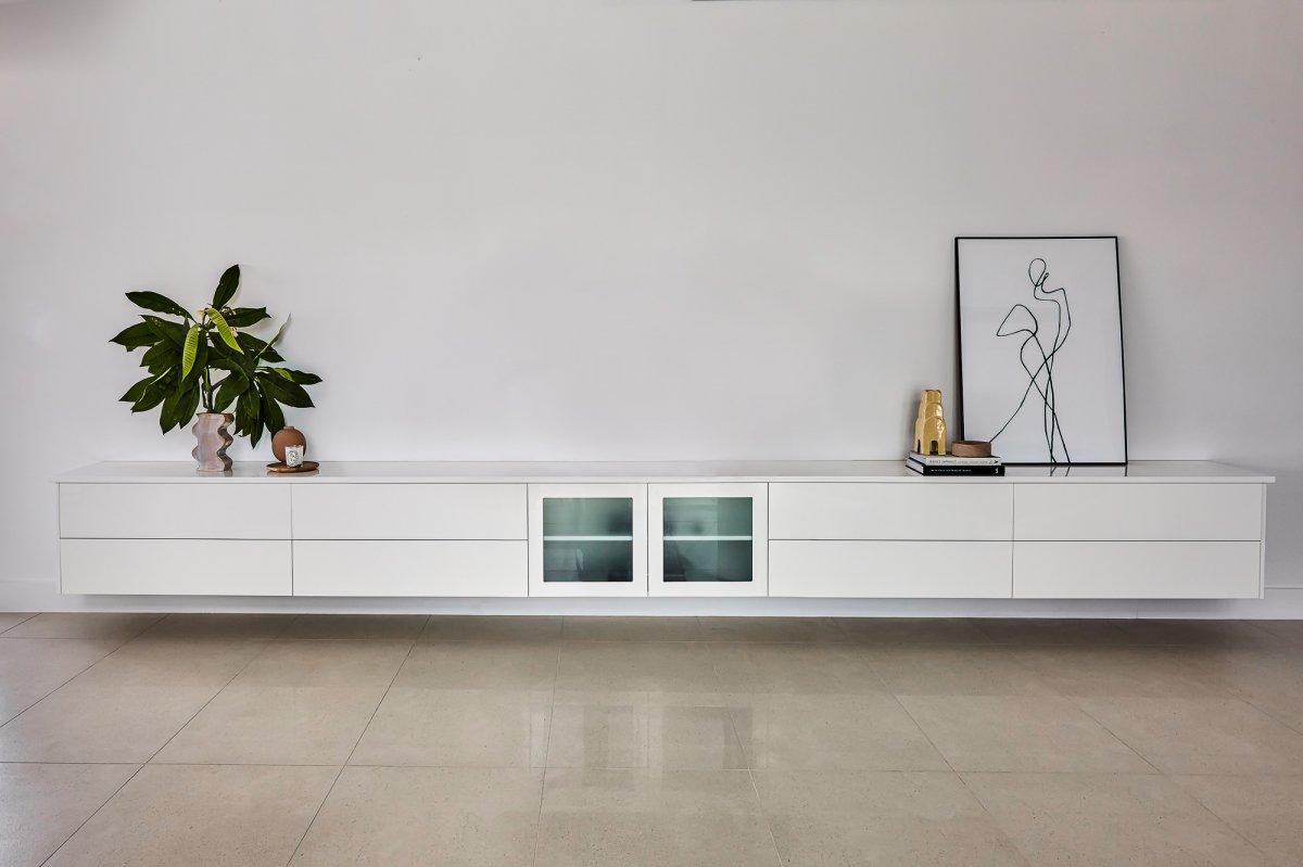 custom TV unit Phillip bay