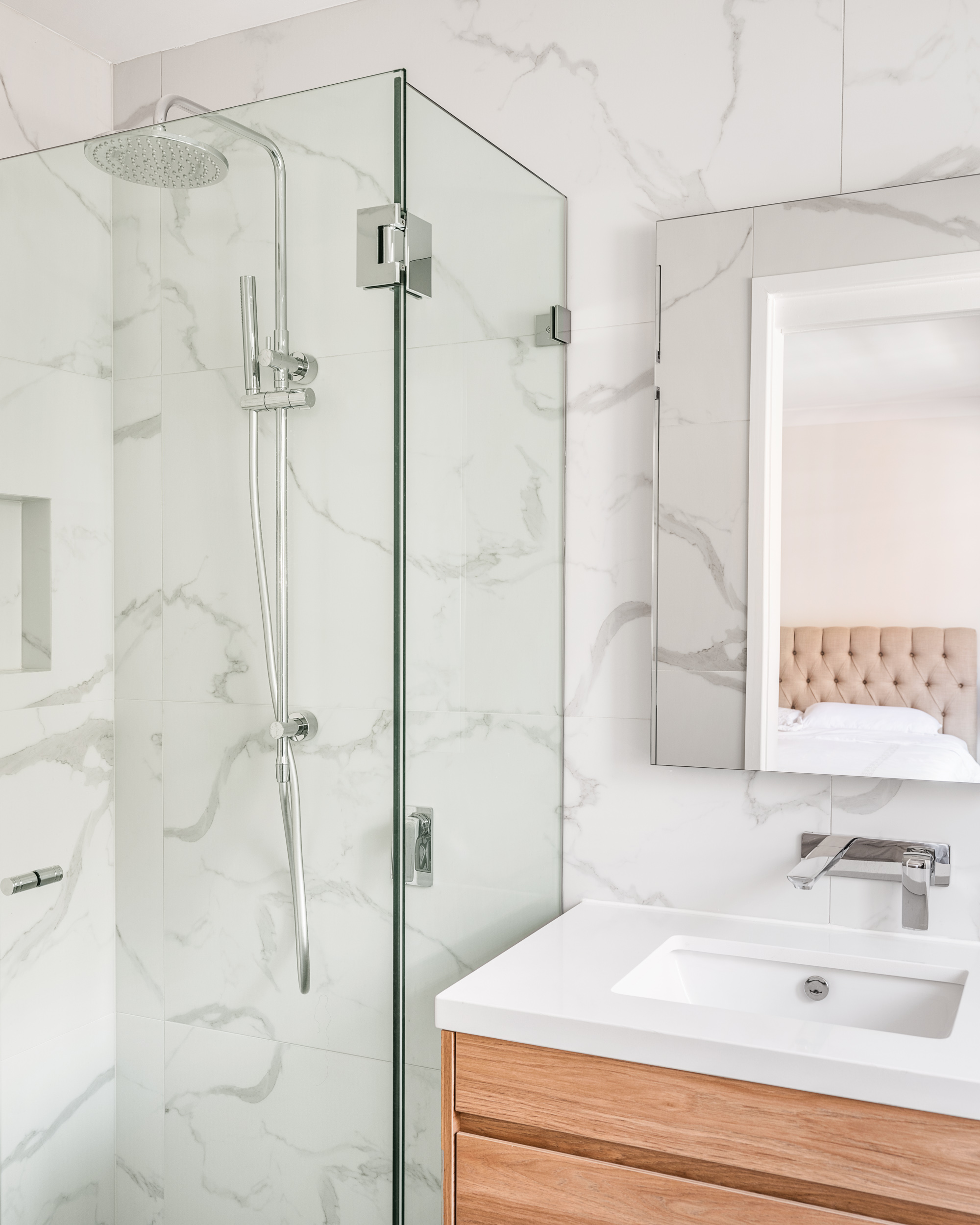 marble bathroom Chatswood