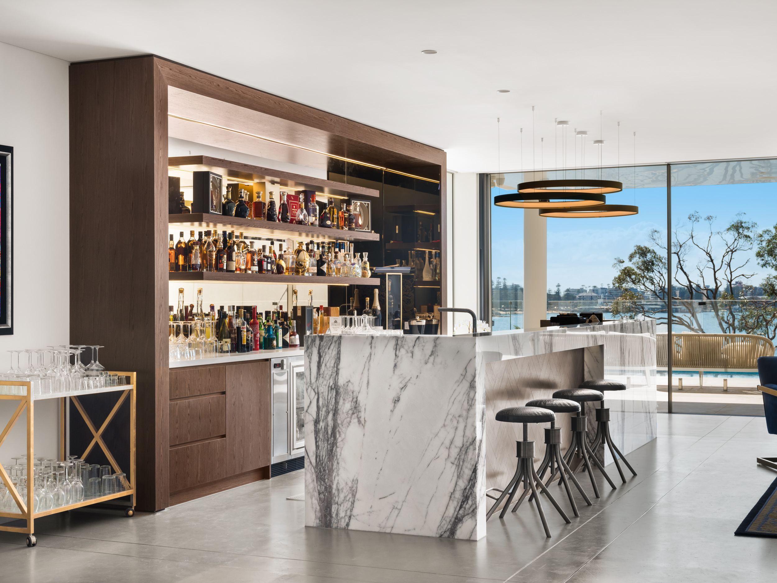 luxury bar northern beaches