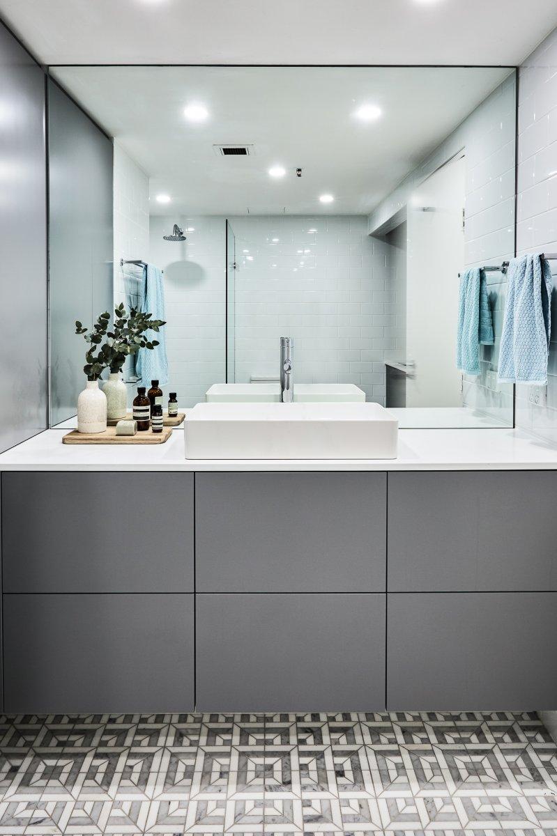 modern bathroom design Woolloomooloo