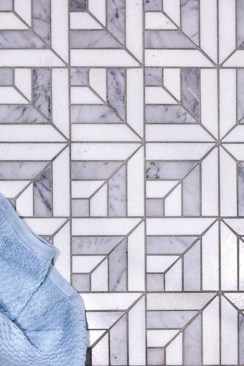 bathroom tiles grey marble