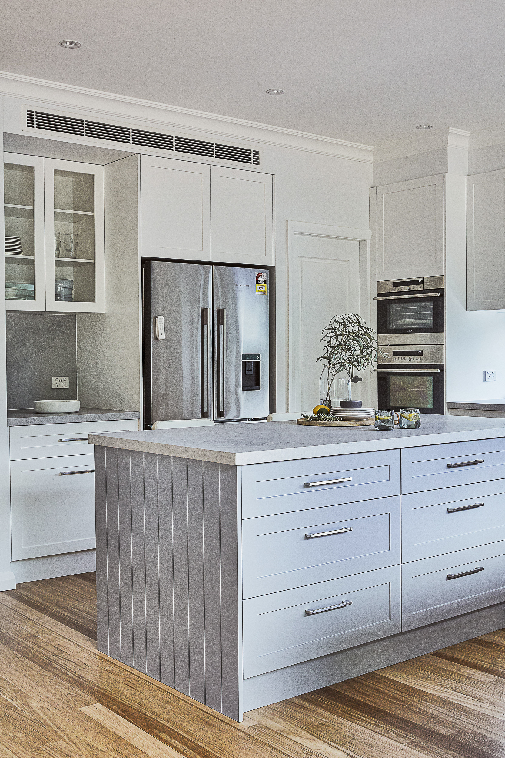 Hampton's Style kitchen design