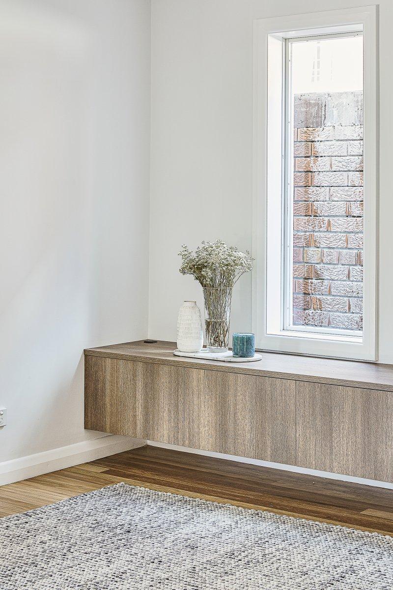 Custom longline TV cabinetry
